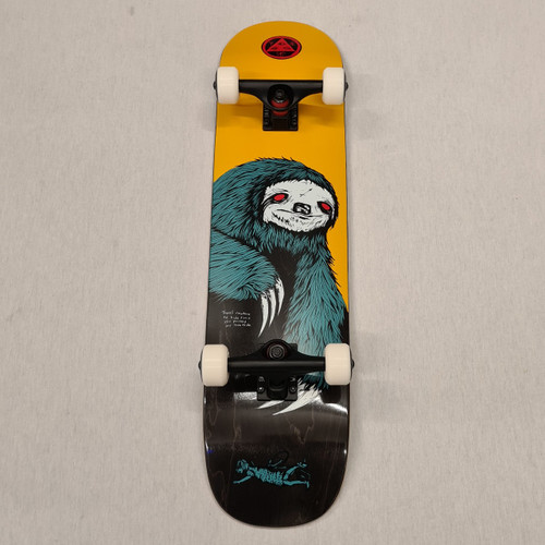 "Welcome Skateboards - Sloth Complete Skateboard - 7.75"" - Orange"