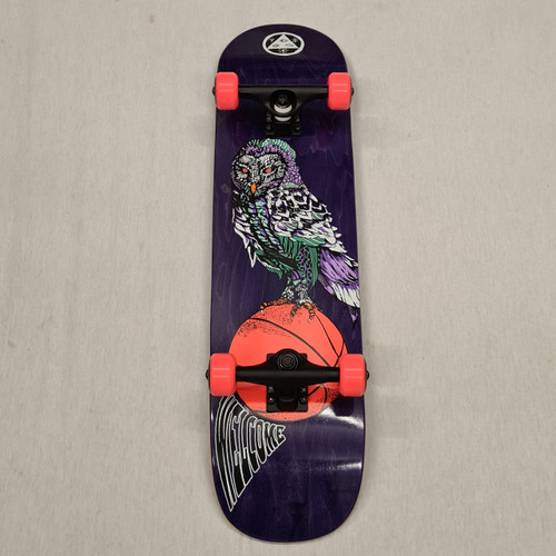 Welcome Skateboards - Owl Bunyip Complete Skateboard - 8""