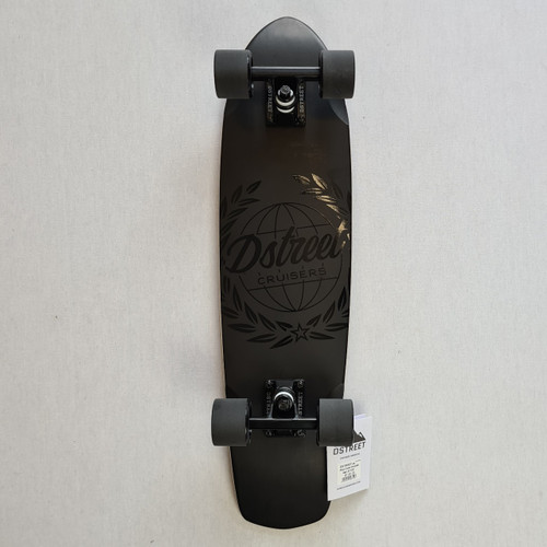 D Street Atlas Cruiser Skateboard - 28  IN - Black