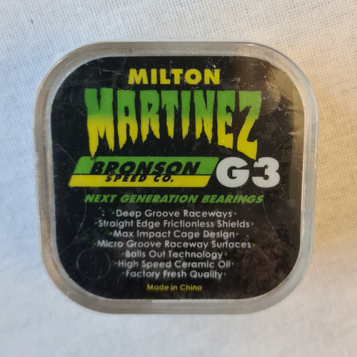 Bronson G3 Martinez Creature Singnature Bearings - Green