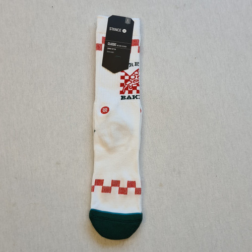 Stance x Baker Socks - White