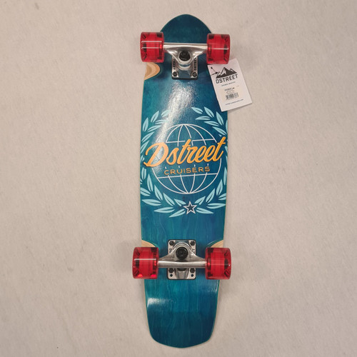 D Street Atlas Cruiser Skateboard - 28  IN - Blue