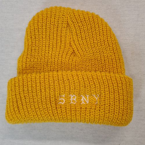 5BORO NYC Beanie - Yellow