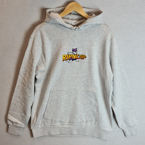 RIPNDIP Captain Nermal Pants Hoodie - Grey