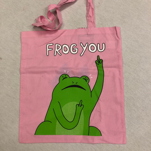Leon Karssen Frog You Tote Bag - Pink
