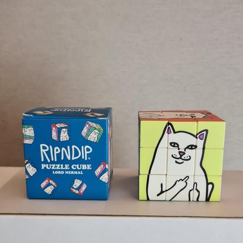RIPNDIP Lord Nermal Rubix Cube.
