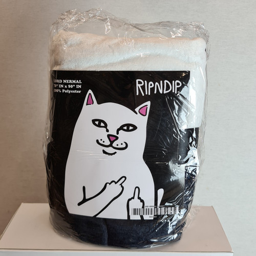 RIPNDIP Throw Blanket - Black