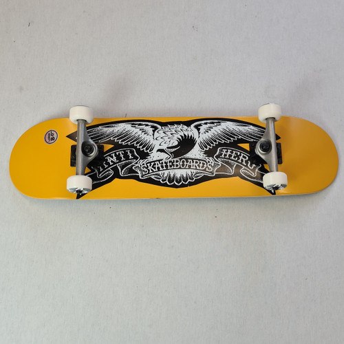"Anti Hero 8"" Copier Eagle Complete Skateboard - Orange"