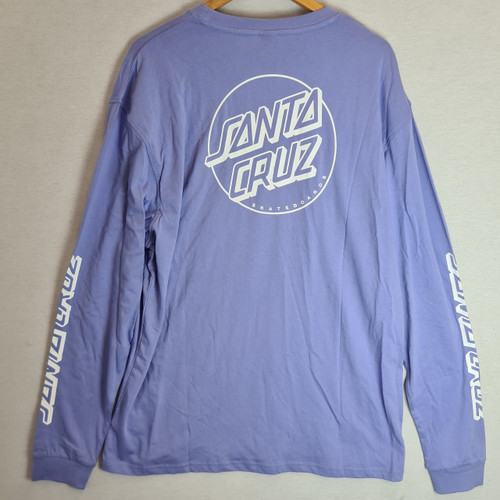 Santa Cruz - Opus Dot Crew Sweatshirt - Purple