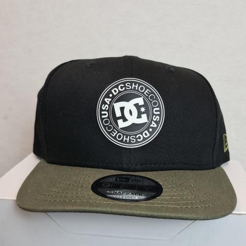 DC New Era Snapback Hat - Black/Olive
