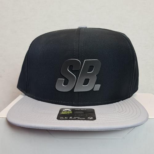 Nike SB Logo Snapback Hat - Black