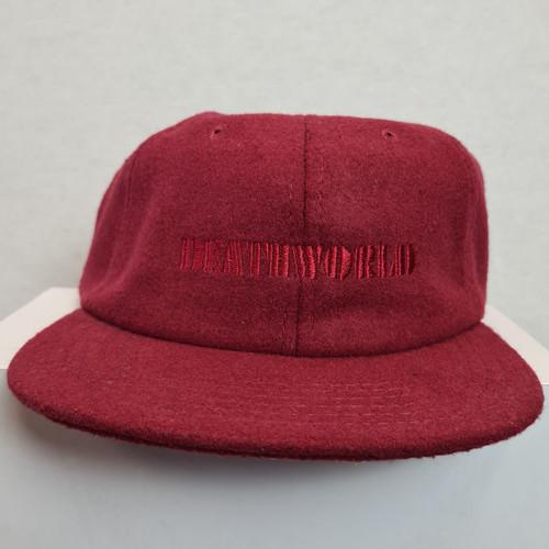 Deathworld Strapback Hat - Burgundy