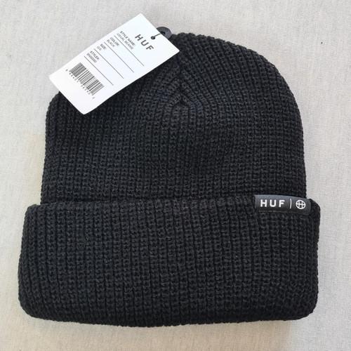 HUF Worldwide Usual Beanie - Black