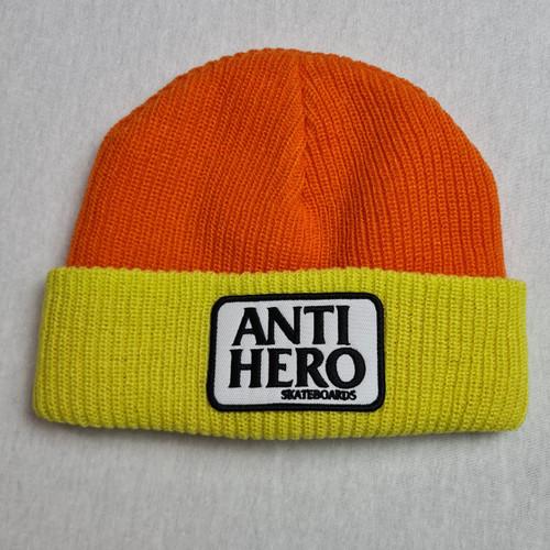 Anti Hero Cuff Beanie - Yellow/Orange