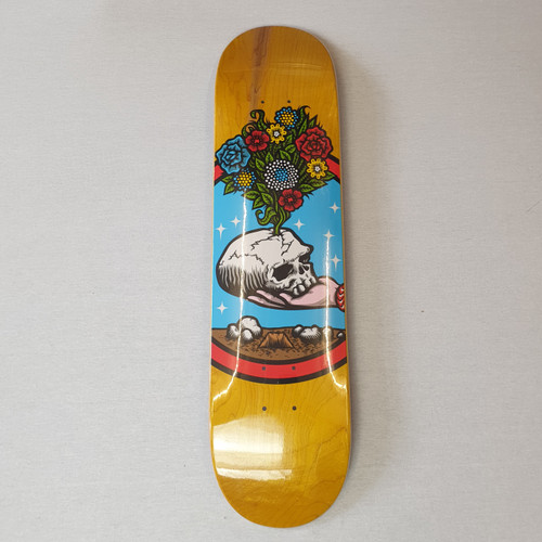 "Strangelove Skateboards Flowers 7.75"" Skateboard Deck"