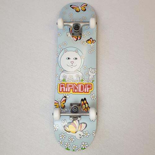 "RIPNDIP Floral Nermal 8"" Complete Skateboard"