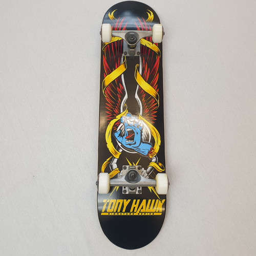 Tony Hawk - Complete Skateboard - Santa Cruz Sticker - 7.75""