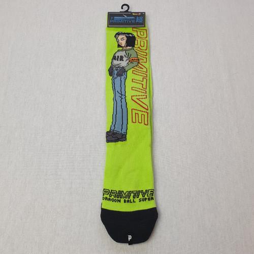 Primitive Skateboards X Dragon Ball Z DBZ Androids Socks