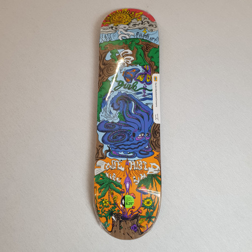 Girl Visualize One Off Skateboard Deck - Simon Bannerot Pro Model