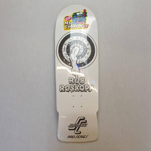 "Santa Cruz Roskopp Rob Target My Colourway 10"" Skateboard Deck"