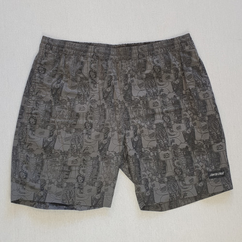 Santa Cruz Skateboards Kendall Catalogue Shorts - Grey