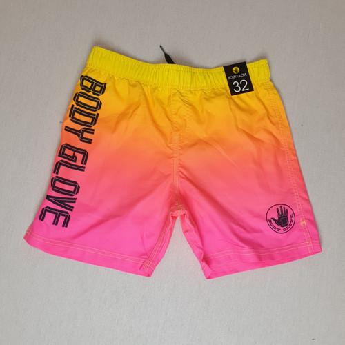 Body Glove Board Shorts - Pink/Orange