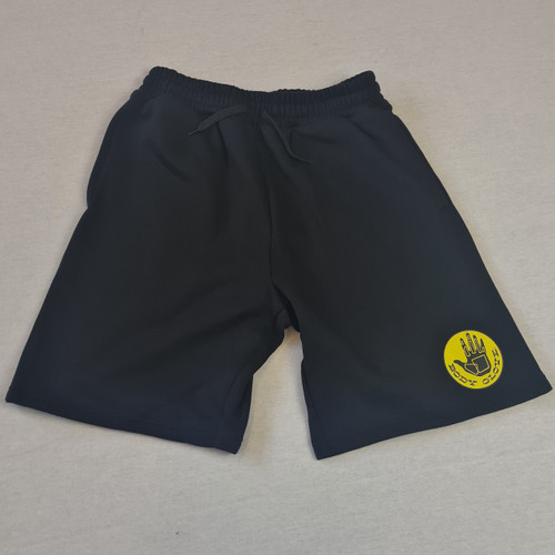 Body Glove Track Suite Shorts - Black/Yellow