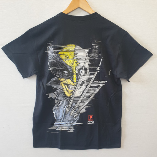 Primitive Skateboards X Paul Jackson X Marvel Wolverine Tee - Black