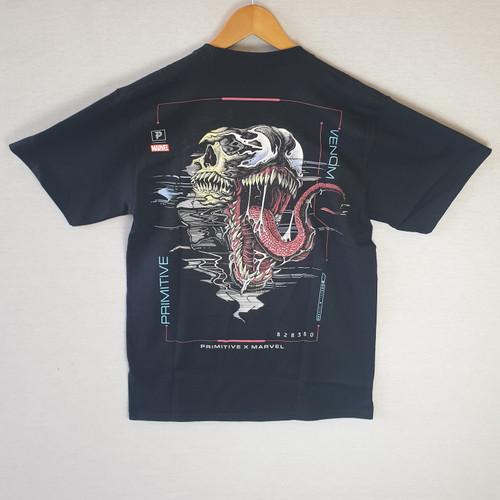 Primitive Skateboards X Paul Jackson X Marvel Venom Tee - Black