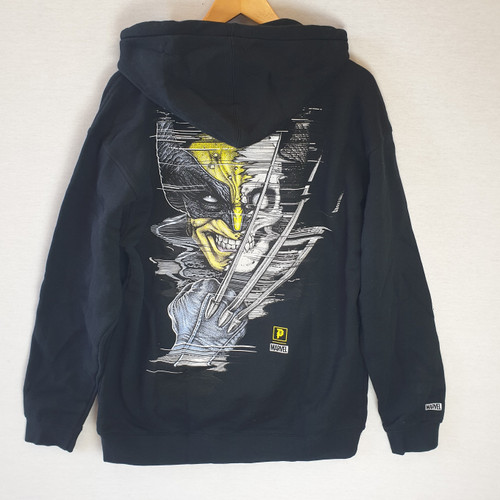 Primitive Skateboards X Paul Jackson X Marvel Wolverine Hoodie - Black