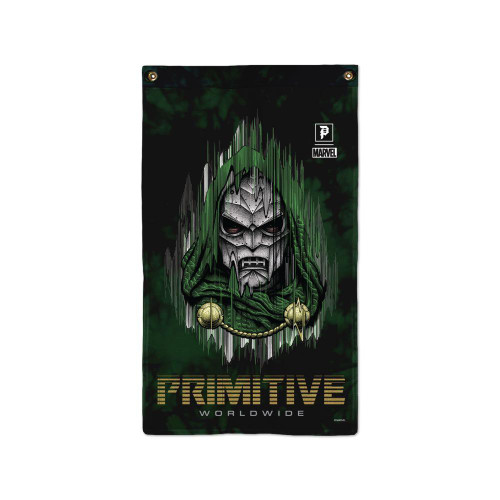 Primitive Skateboard X Paul Jackson X Marvel Doom Banner