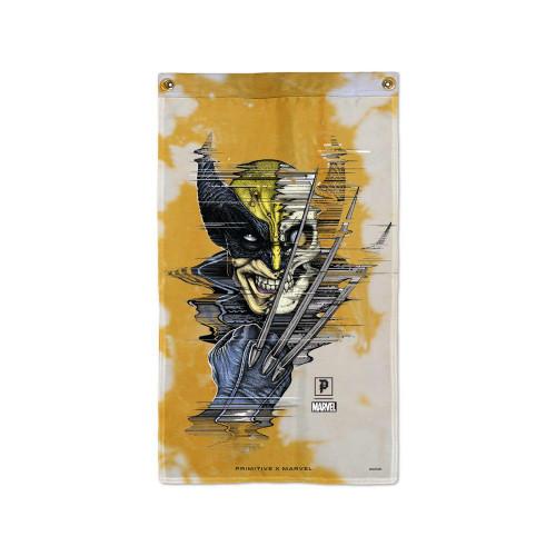 Primitive Skateboard X Paul Jackson X Marvel Wolverine Banner