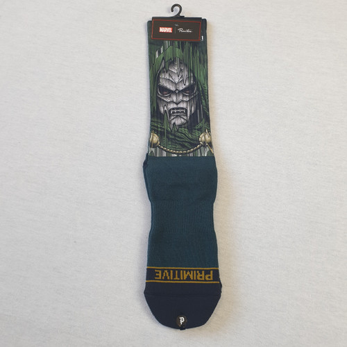 Primitive Skateboard X Paul Jackson X Marvel Doom Socks