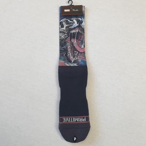 Primitive Skateboard X Paul Jackson X Marvel Venom Socks