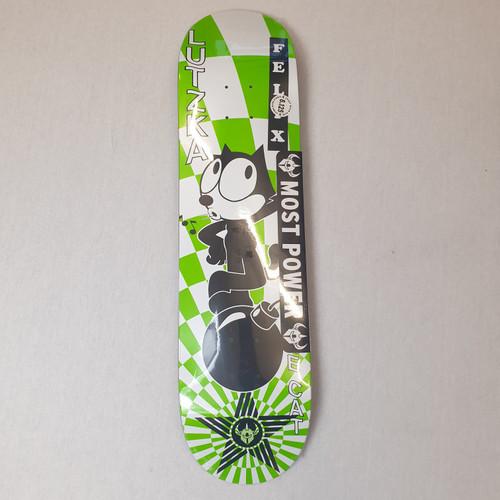 """Darkstar X Felix The Cat Vortex 8.125"""" Skateboard Deck"""