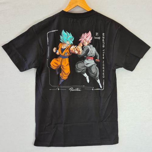 Primitive Skateboards X Dragon Ball Z Goku Black Rose Versus Tee - Black