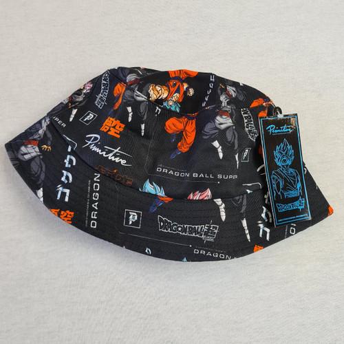 Primitive Skateboards X Dragon Ball Z Goku Versus Bucket Hat - Black