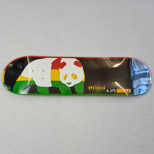 Enjoi Skateboards - Rasta Deck -  8.375 inch Deck
