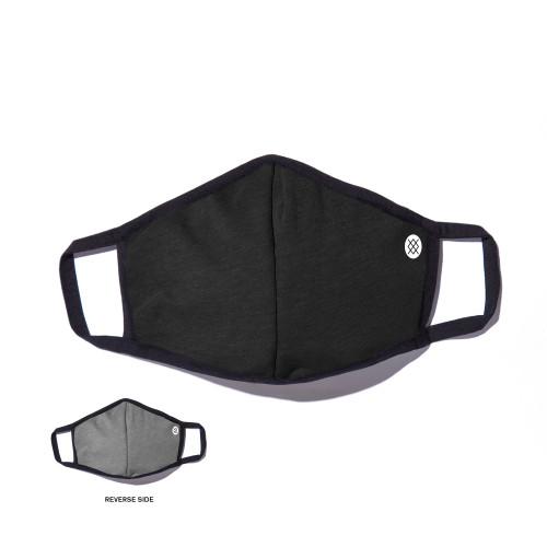 Stance Solid Face Mask - Black / Grey