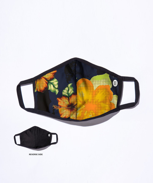 Stance Hibiscus Smear Face Mask