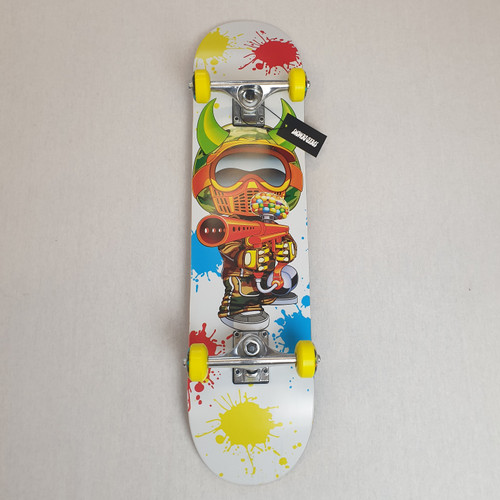 "Speed Demons Paintballer 7.5"" Complete Skateboard"