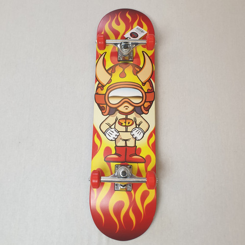 "Speed Demons Hot Shot 8"" Complete Skateboard"