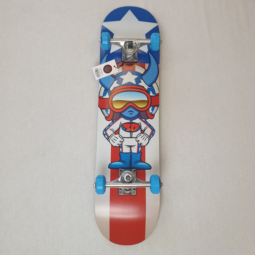 "Speed Demons Stars 7.25"" Mini Complete Skateboard"