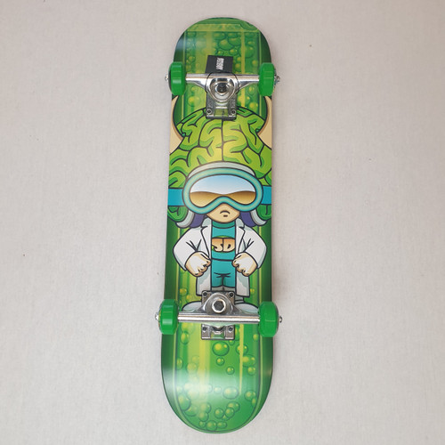 "Speed Demons Stars 7"" Mini Complete Skateboard"