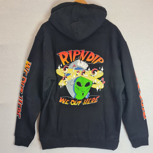 RIPNDIP Out of this World Hoodie - Black