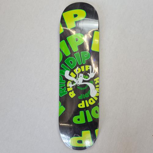 Ripndip Descendent Board Skateboard Deck - Green