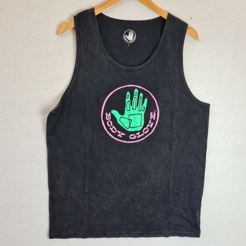 Body Glove Hand Acid Wash Vest - Black