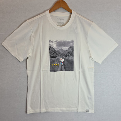 Element x Peanuts - Snoopy Adventure Tee - Off White