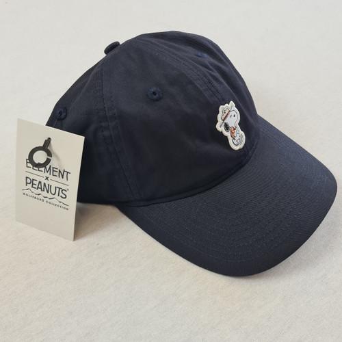 Element x Peanuts - Snoopy Peanuts Hat - Curved Peak Navy