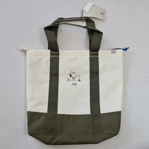 Element x Peanuts - Snoopy Peanuts Tote Bag  20L - Off White